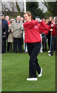 Lady Captain Bernadette