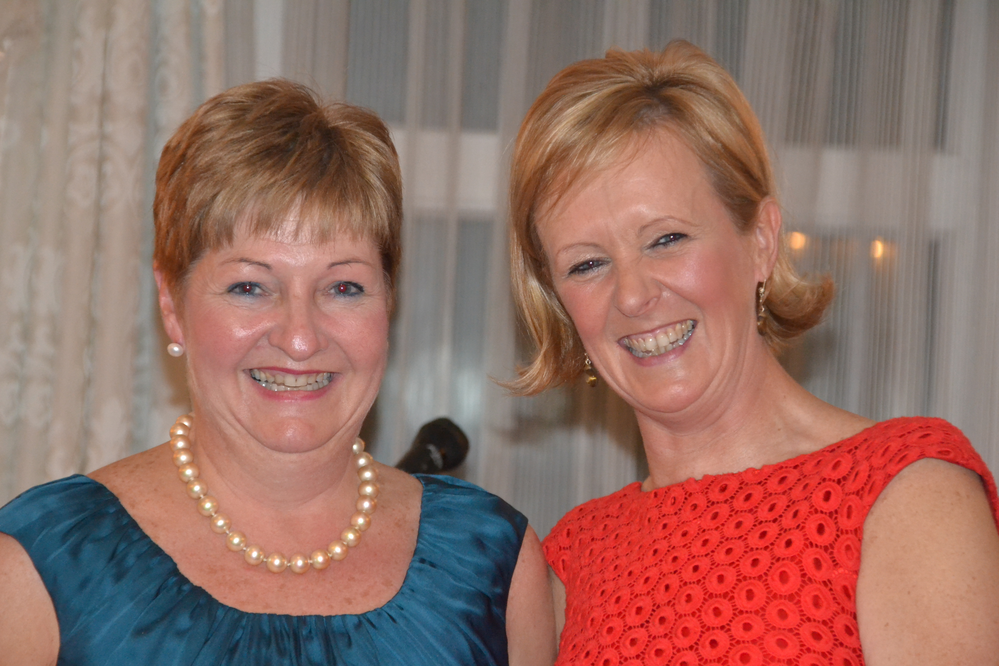 Gillian O'Grady & Lady Captain Ber