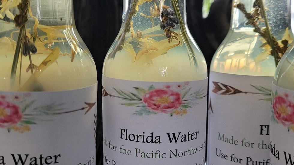 Florida Water Handmade  for the PNW
