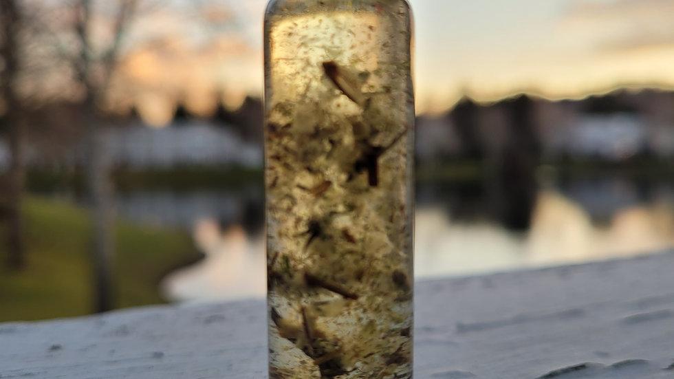Psychic Oil Moldavite and Mugwort