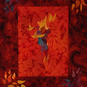 Elements of Dance: Fire Dance by CynDe Copple