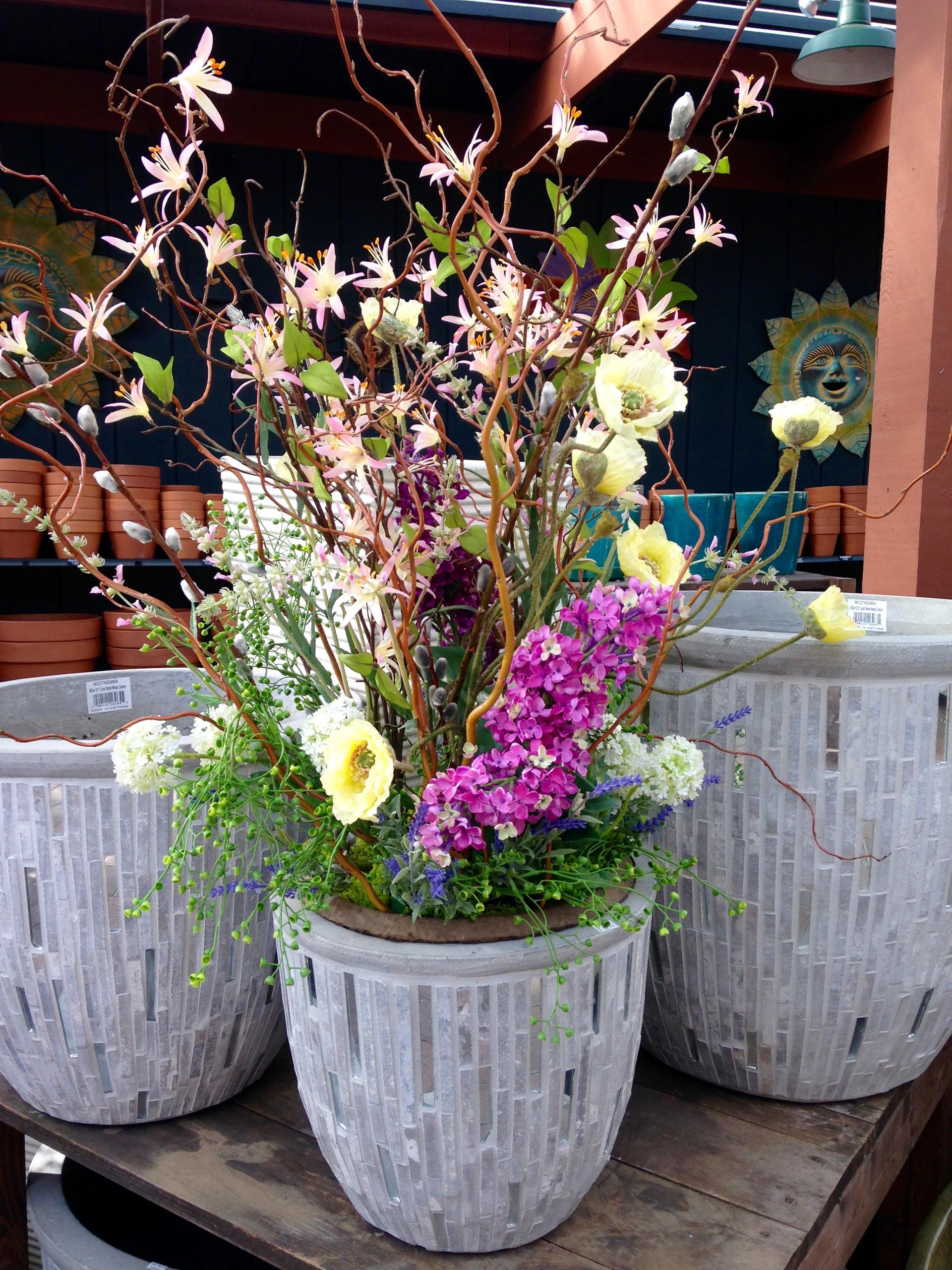 Spring Potted Arrangement