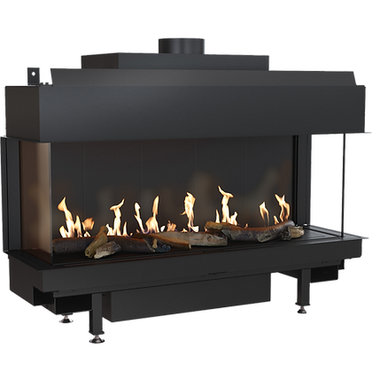 LEO 100 Left/Right Gas Fireplace