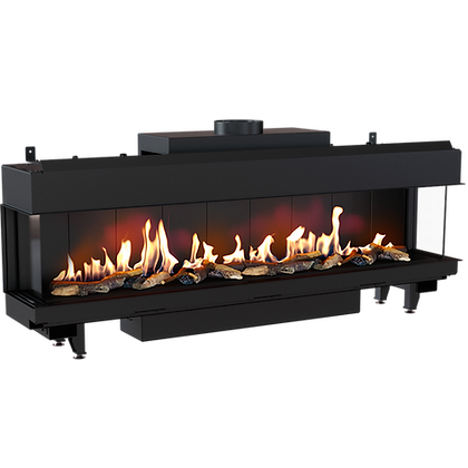 LEO 200 Left/Right Gas Fireplace