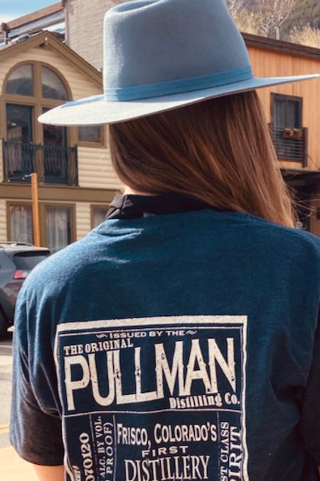 Pullman Distillery T-Shirt Navy Blue