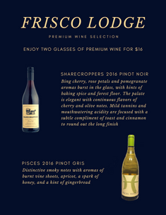 Graphic Design Project for the Frisco Lodge