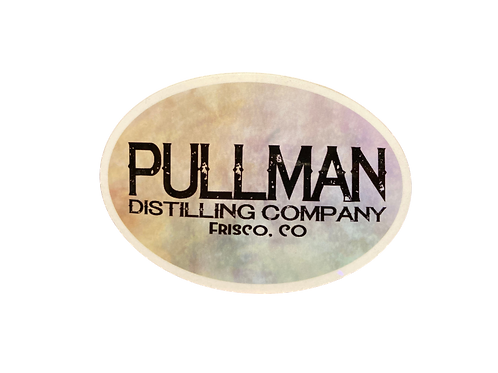 Pullman Distillery Sticker