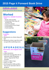 Channel 8 Book Drive Case Study