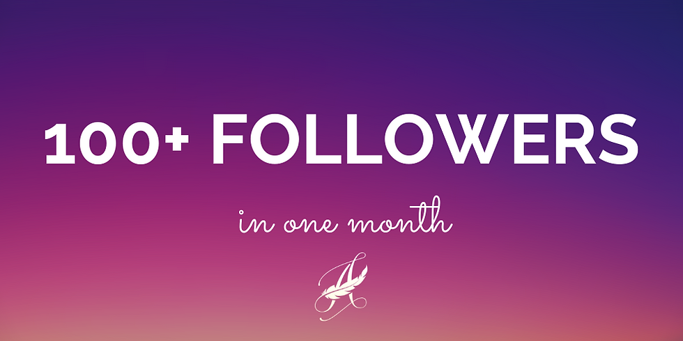 How to Get 100+ Twitter Followers in a Month