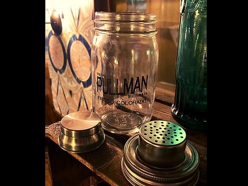 Pullman Distillery Mason Jar Shaker