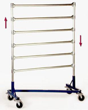 MODEL Z 271 Hanger Transport Rack