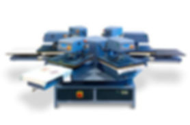 Model CA 1000 Carousel Rotary Heat Transfer Press ​