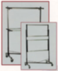 MODEL Z 268 Double Rail Garment Rack