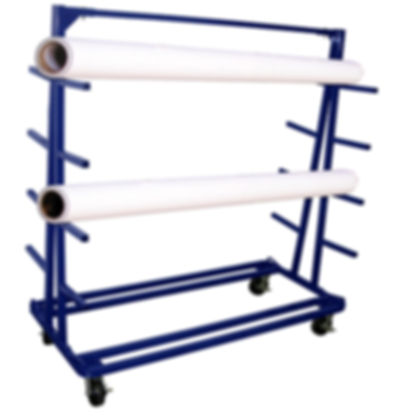209 Heavy Duty Fabric Roll Storage Cart AIT