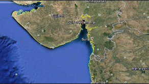 Incident Report- Anchoring in Gulf of Khambat