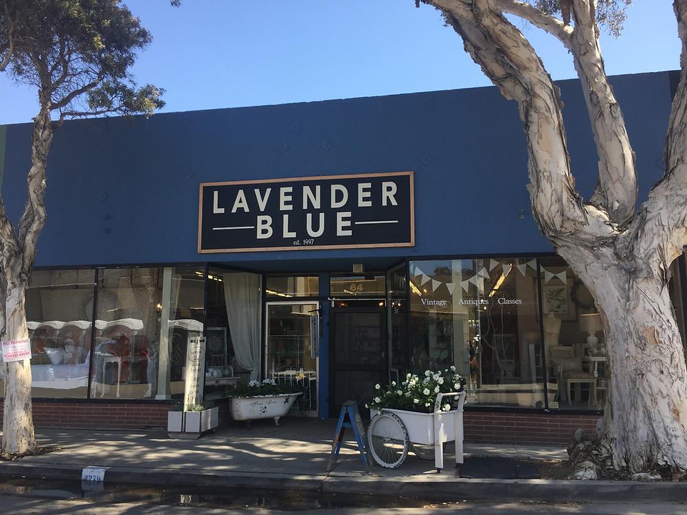 Lavender Blue Ventura Antique