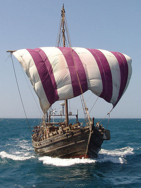 Phoenicia at sea