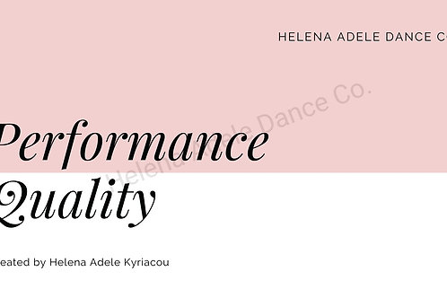 Core Performance - Performance Quality