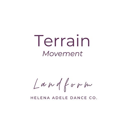 Terrain Movement - Landform