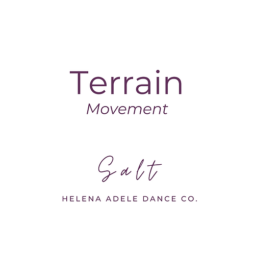 Terrain Movement - Salt