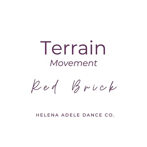 Terrain Movement - Red Brick
