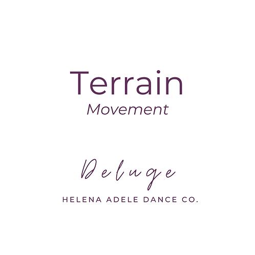 Terrain Movement - Deluge