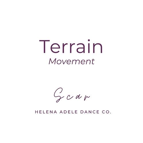 Terrain Movement - Scar