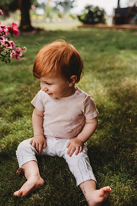 Eco Dyed Baby Onesie