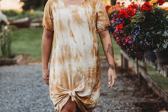 Eco Dyed Beach Dress