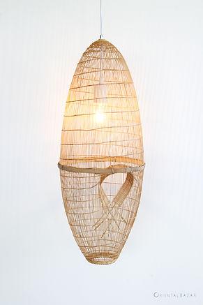 PL20 - Thai Fish Trap Pendant Lamp