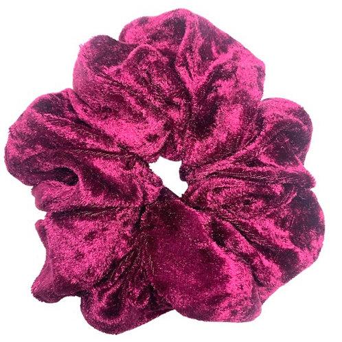 Pink Velvet Maxi Scrunchie