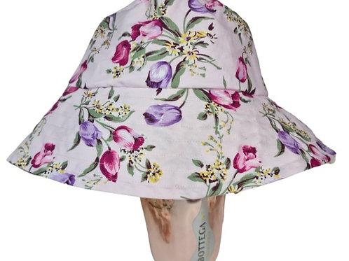 Pink Tulip Bucket Hat