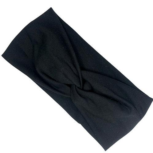 Plain Black Headband