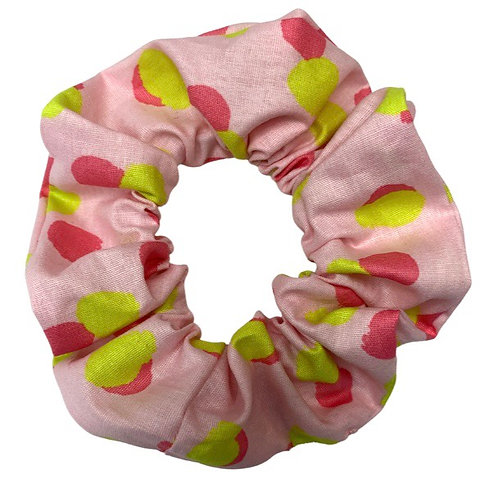 Pink Dot Scrunchie