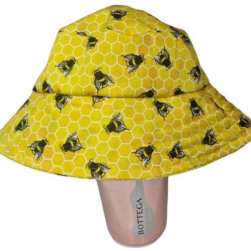 Yellow Bee Bucket Hat