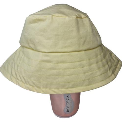Pastel Yellow Bucket Hat