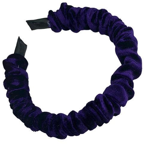 Purple Velvet Headband