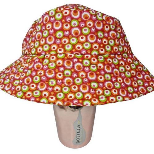 Circle Pattern Bucket Hat