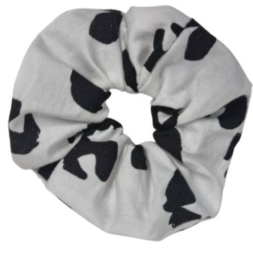 Cow Print Baby Scrunchie