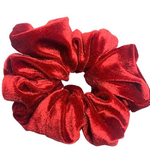 Red Velvet Maxi Scrunchie