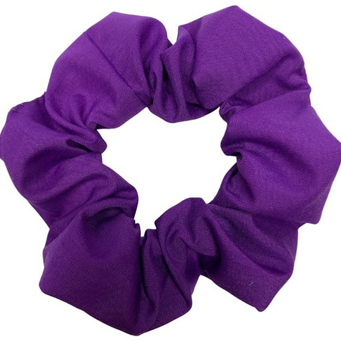 Purple Scrunchie