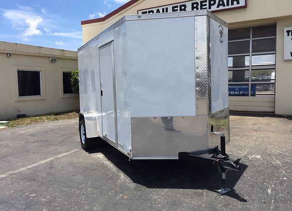 Diamond Cargo Enclosed 6x12 Single Axle Trailer