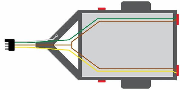 4-Pin_Trailer_Wiring_Diagram-Yellow_Brow
