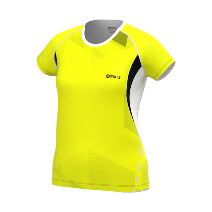 Female T-shirt NEOXX Yellow