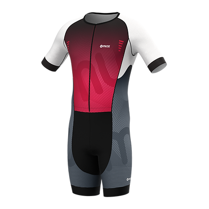 Male PERFORMANCE Trisuit REXX Red
