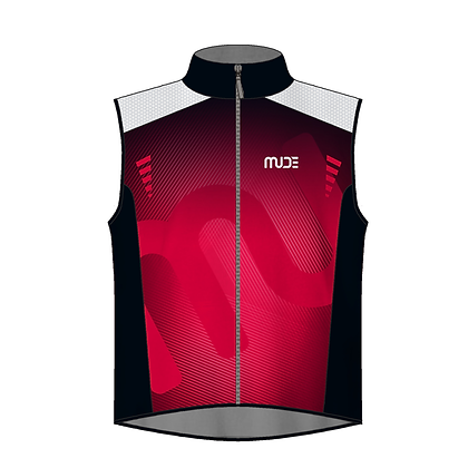 Cycling Gilet REXX Red