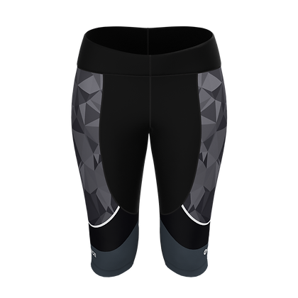Female Knee Tights PRISMA Grey