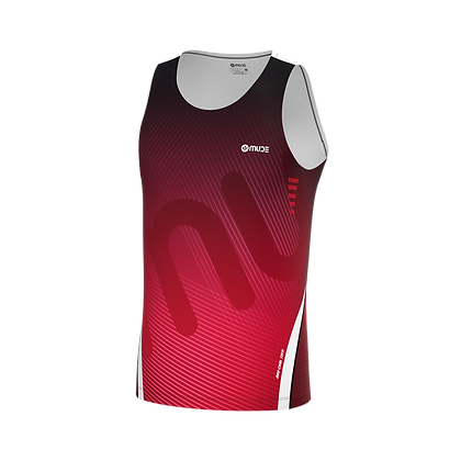 Male Singlet REXX Red