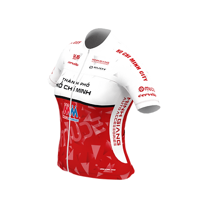 Female HCMC Cycling Team Jersey Official Red