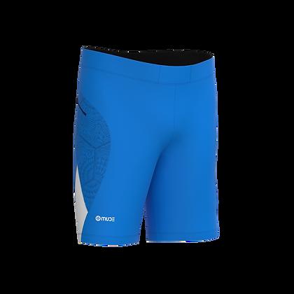 Running & Fitness Slim Fit Male Shorts BCN Tiles Blue